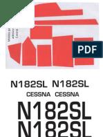 Moldes Adesivos Cessna