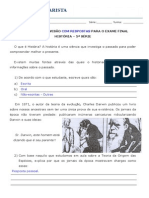Exercícios de Revisão Com Respostas - HIST