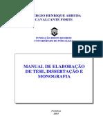 Monografia Manual de Elaboracao Teses Dissertacao