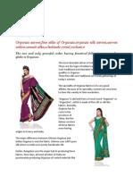 Unnati silks designer organza sarees online-Online sarees-sarees in india-online saris