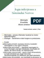 Patologia Infecţioasa a Sistemului Nervos