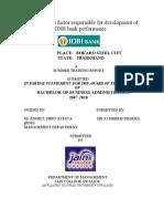 Avishekh Idbi Project