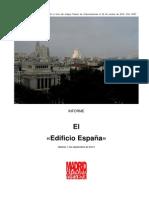 Informe sobre el Edificio España