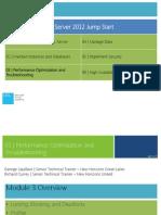 Administering Microsoft SQL Server 2012 Databases Jumpstart-Mod 3_final