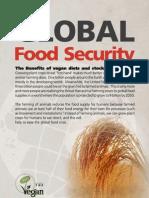 Global Food Security - Benefits of Vegan Diet