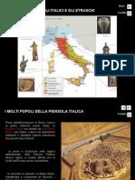 5. i Popoli Italici e Gli Etruschi