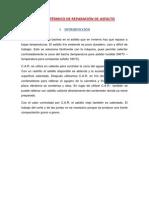 Informe Sistema Térmico de Reparación de Asfalto