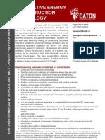 alternative energies technology 13-14