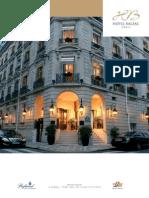 Hotel Balzac Fact Sheet