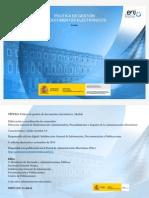 20131128 Modelo de Politica de Gestion de Documentos Electronicos NIPO 630-13-166-8