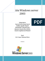 Instalación Windows Server 2003 Isaac