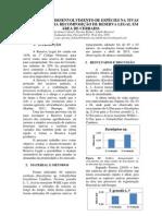 Avaliação Do Desenvolvimento de Espécies Nativas e Exóticas Para Recomposição de Reserva Legal Em Área de Cerrado.
