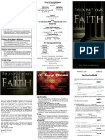 Reaching Our World - Foundations of Faith (5 of 5)