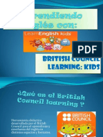 Learning english with fun using the British Council web page