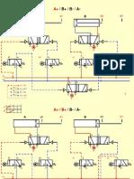 Pneumatica-Comando Sequencial-A+B+B-A-