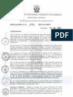 Unfv Plan Operativo Institucional 2013