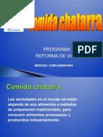 Comida Chatarra Para Exposicion
