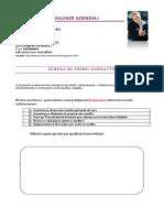 Scheda Pdf per ricevere informazioni