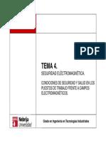 Temas 4 Seguridad Electromagnética