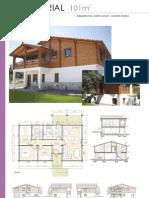 casas madera-planos