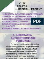 c. 4 Relația, Personal Medical-pacient