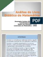 Análise Do Livro Didático de Matemática