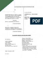 iBasis Post-Trial Opening Brief