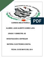 Trabajo de Investigacion de Electronica Digital