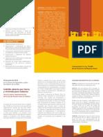 Folleto Ley de Habitat Imprenta