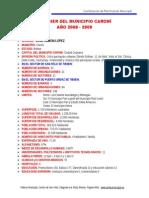Dossier Del Municipio Caroní 2009