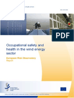 OSH in Wind energy sector