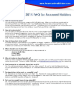 2013 HSA FAQ for Account Holders