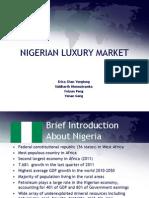 Nigerian Luxury Market