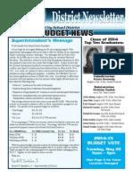 Oneida City School District Budget Newsletter