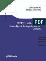 Volumul Dreptul Afacerilor. Raportul Juridic de Drept Al Afacerilor. Contractul(1)