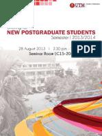 Taklimat Pelajar PG Baru Sem I 20132014 Latest
