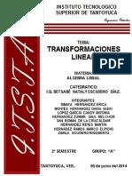 Introducción a Las Transformaciones Lineales