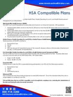 HSA Compatible Insurance Plans