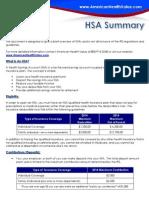 HSA Summary