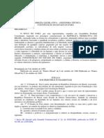 Constituição Estadual EC-53 2012