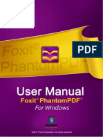 FoxitPhantomPDF50 Manual