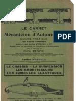 C.wathoul - Le Chassis - La Suspension