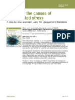 Managing the Causes of Work Related Stress Mgmt Standards
