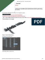 Shatter Efecto dge Texto en 3D - Tutorial _ Milicia Medios