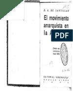 Abad de Santillán - El Movimiento Anarquista en Argentina