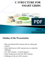 Agc Structure for Smart Grids