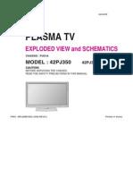 9619_LG_42PJ350_350-UB_Chassis_PU01A_Televisor_de_plasma_Diagramas.pdf
