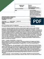 Michigan Chesapeake Energy Complaint