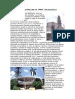 Reseña Histórica de San Martin Chalchicuautla