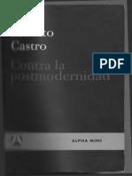 Contra La Postmodernidad - Ernesto Castro